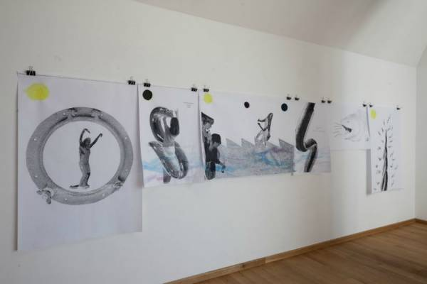 Brudna woda / Dirty water, exhibition view, The State Art Gallery in Sopot, 2011