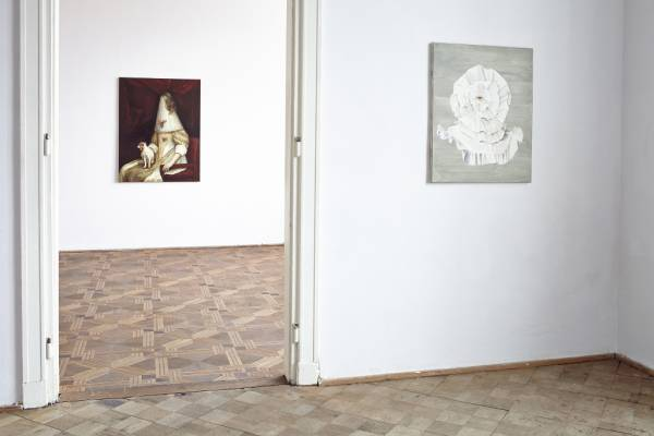 Pukle / Curls, exhibition view, lokal_30, Warsaw, 2014