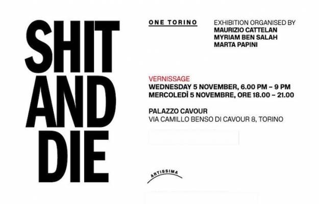 Shit and Die exhibition